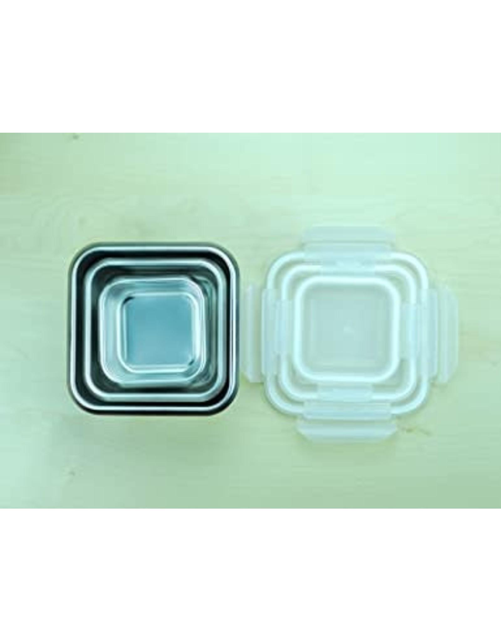 Minimal Nexten Minimal Rectangular S/S Container 500mL