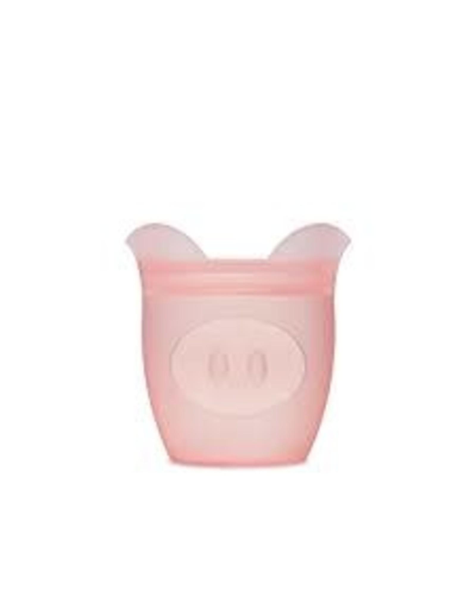 Ziptop Zip Top - Baby Snack Container - Pig - Pink
