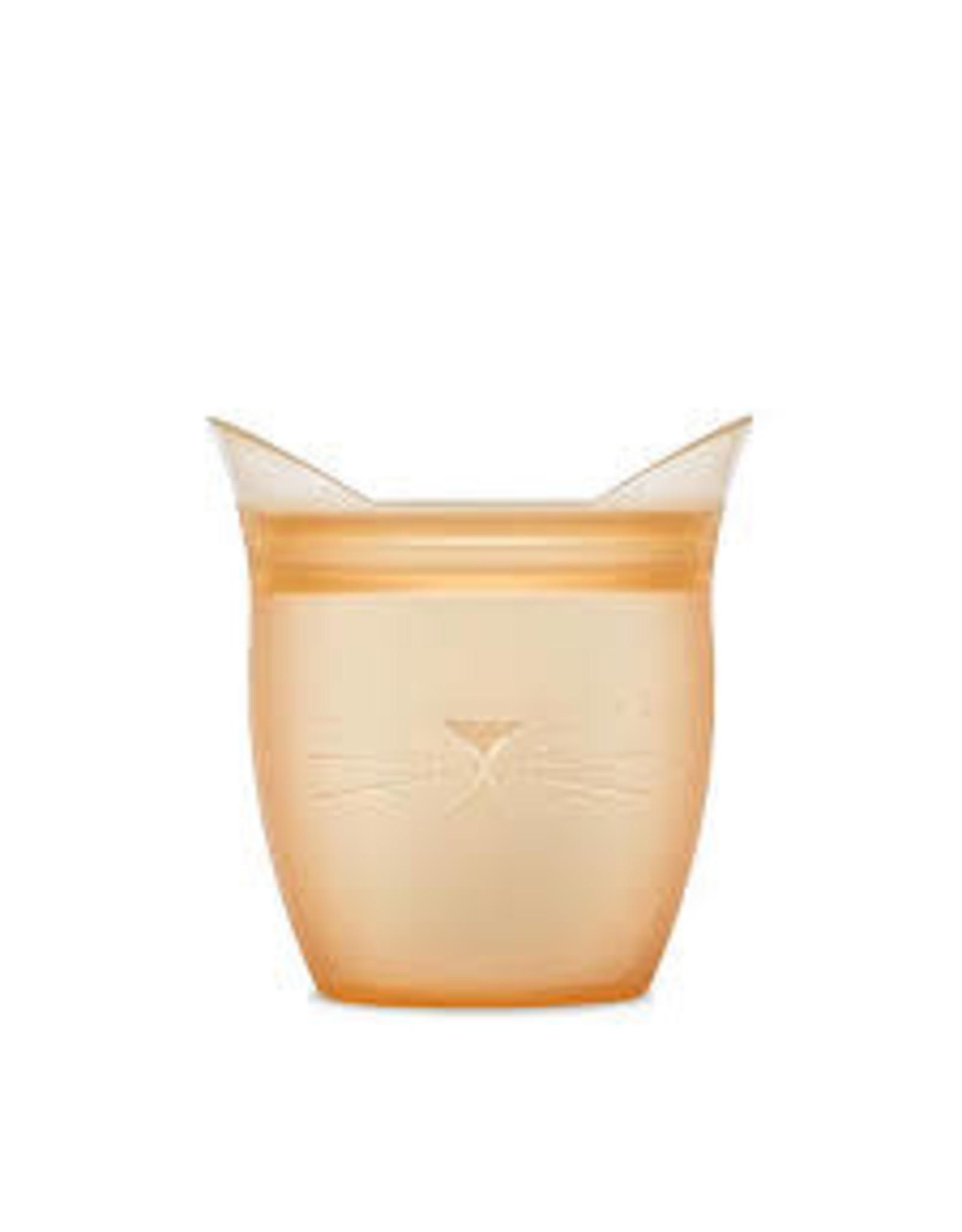 Ziptop Zip Top - Baby Snack Container - Cat - Orange