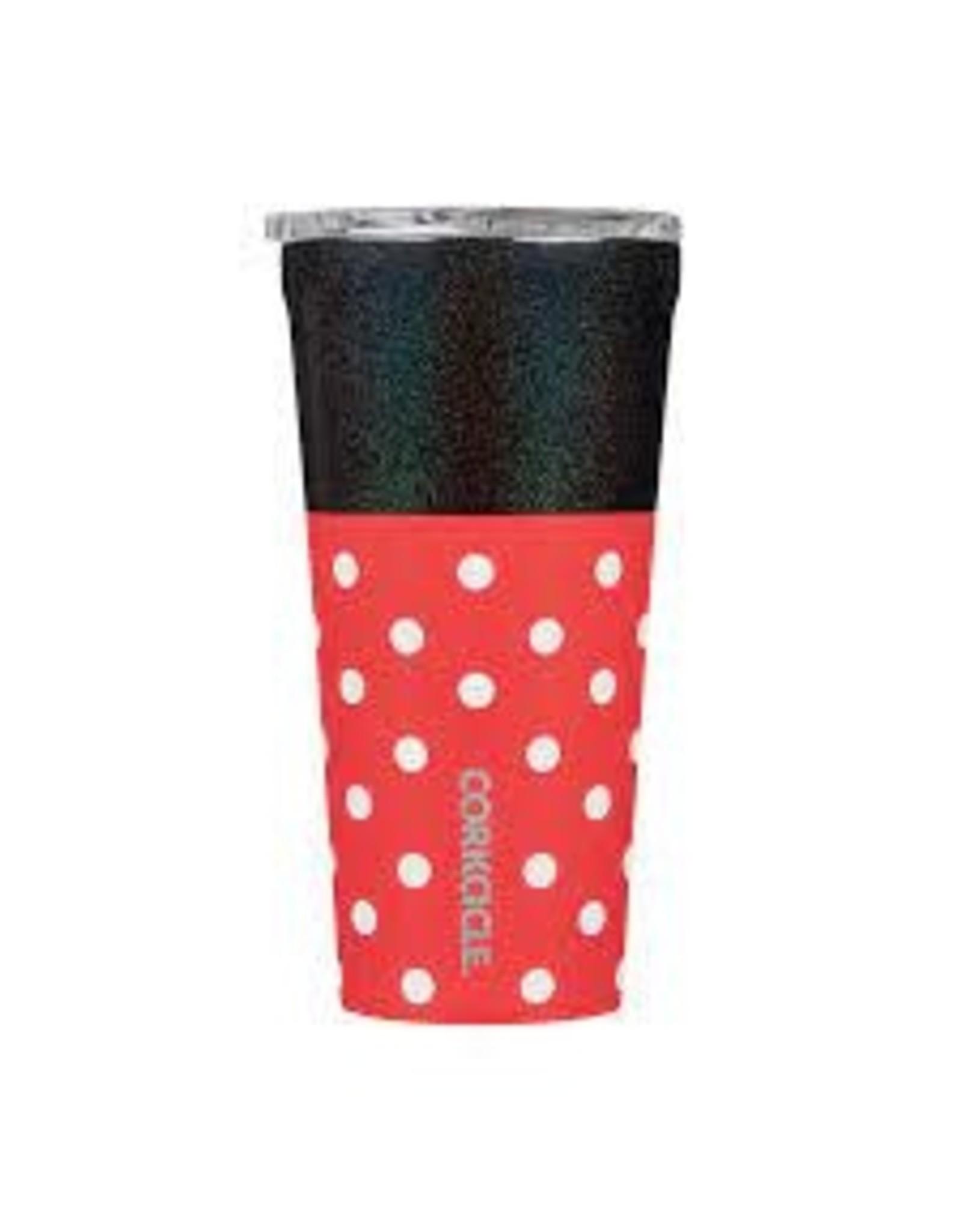 Corkcicle Corkcicle- 16oz Disney Minnie-Polka Dot Red