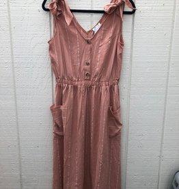 Pocket Stripe Strap Dress