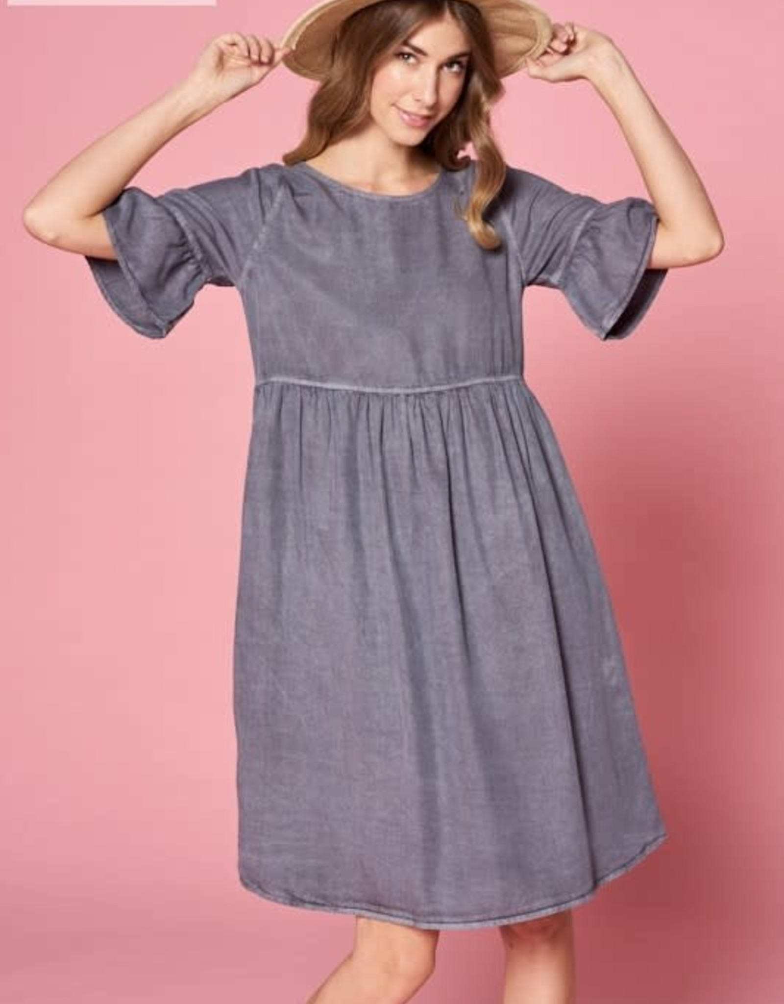 Fit and Flare Swing Dress