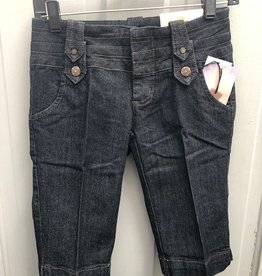 Dark Wash Jr fit  Tab Pockets