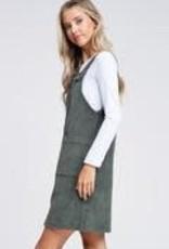 Corduroy jumper dress