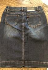 Button up pencil skirt
