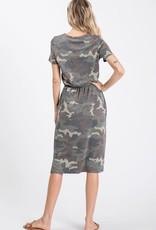Camo Midi Dress