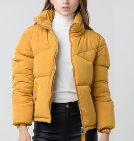 Oversized Boyfriend Puffer Coat
