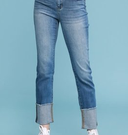 Judy Blue Straight Cuffed Jean