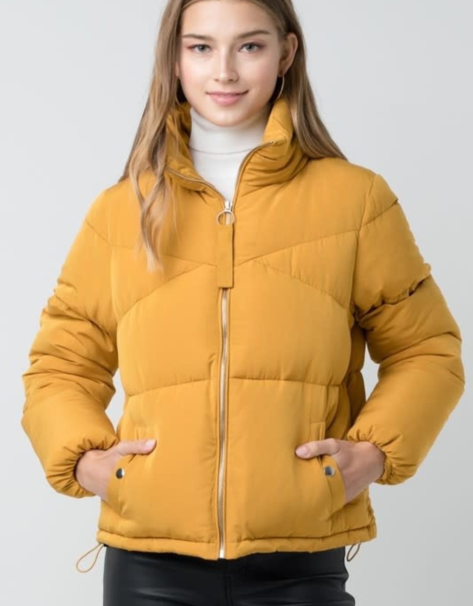 Oversized Boyfriend Puffer Coat