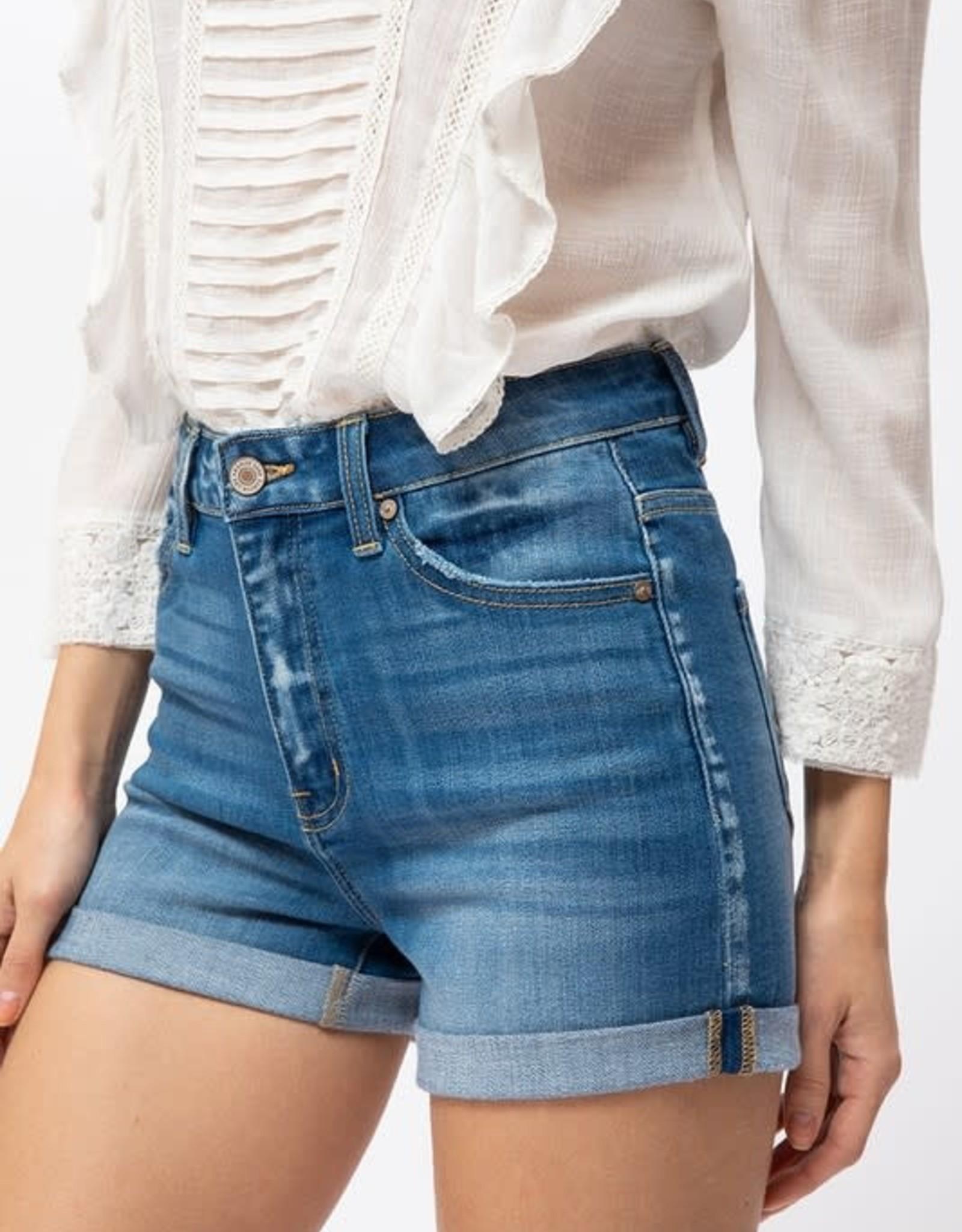 KanCan Hazel High Rise Shorts