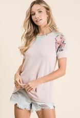 Carrie Floral Raglan Top