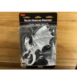 WizKids RPG Mini Wave 11 Young Silver Dragon