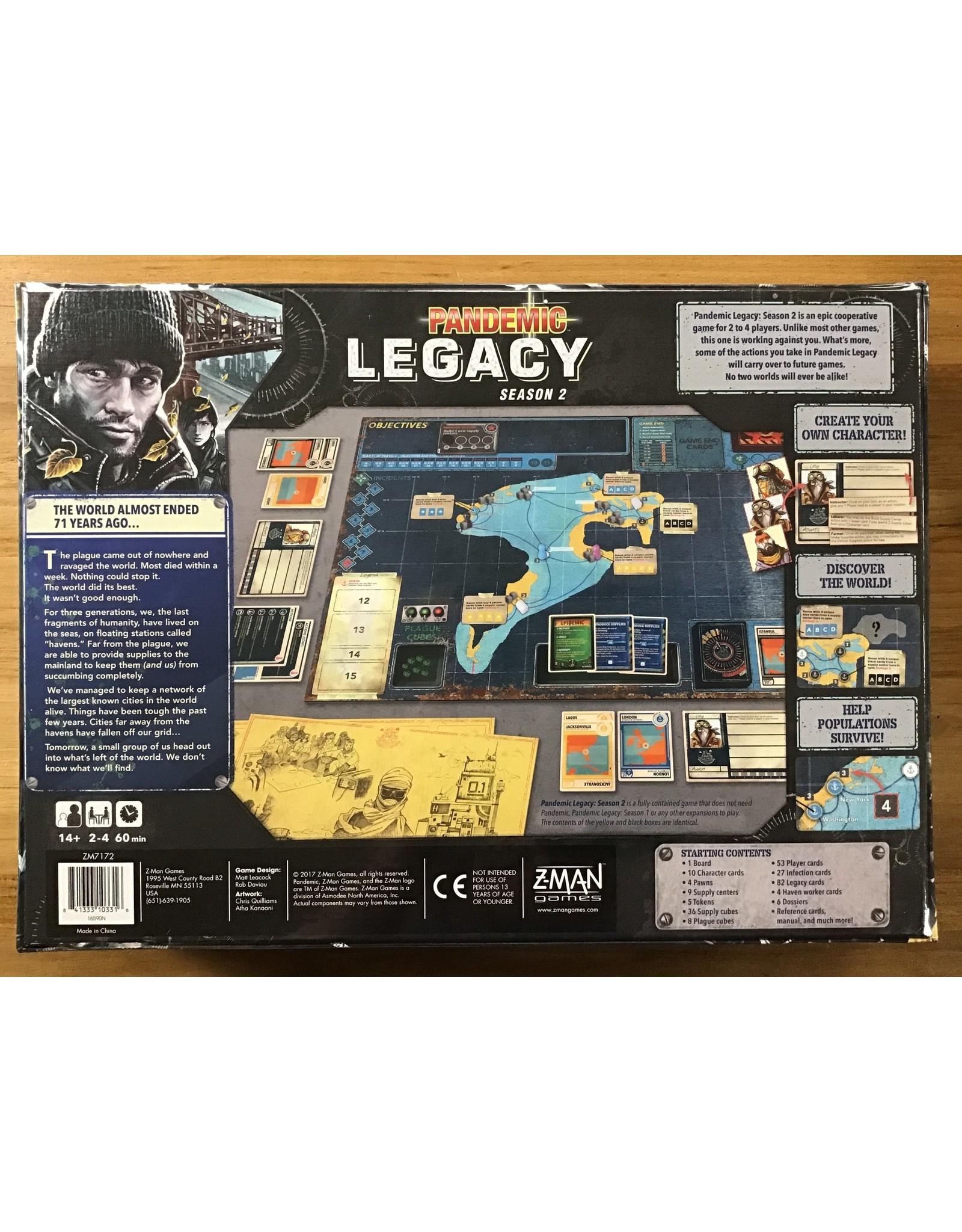 Pandemic: Legacy Season 2 -Black