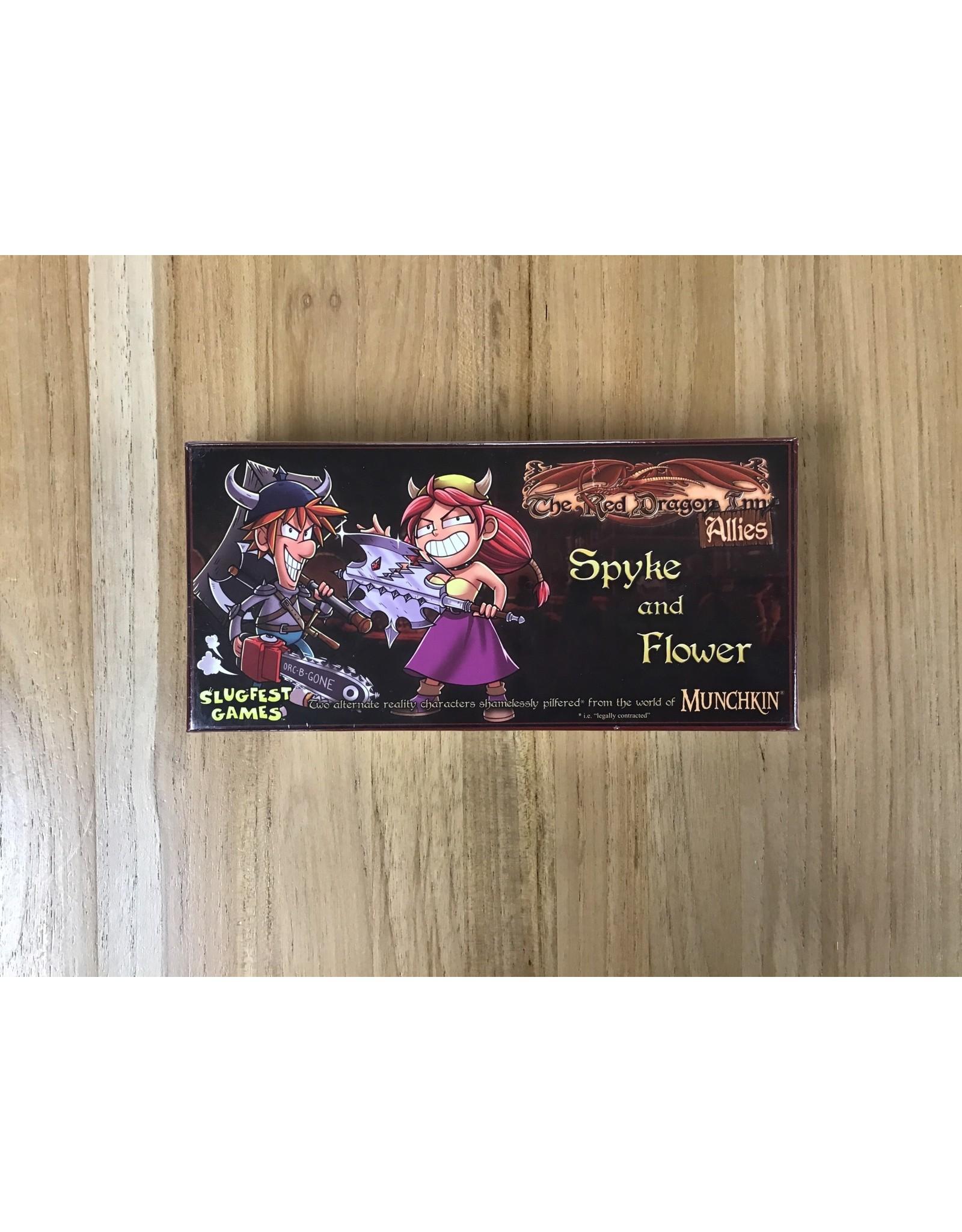 Slugfest Games Red Dragon Inn Allies - Spyke & Flower