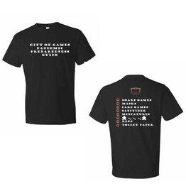 Anvil Pandemic Preparedness Guide Shirt - Men's XS/S/M/L