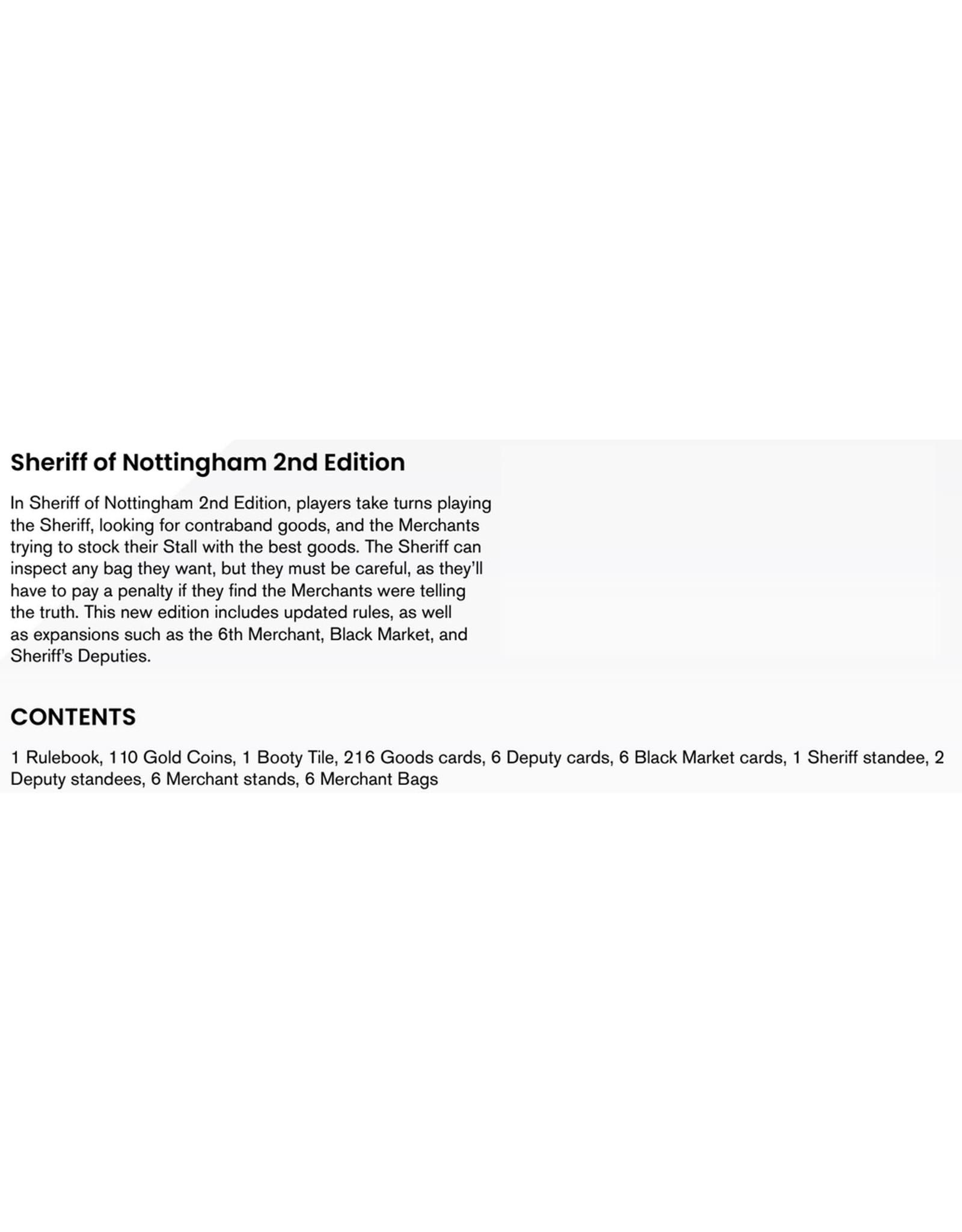 CMON Sheriff of Nottingham 2nd Edition