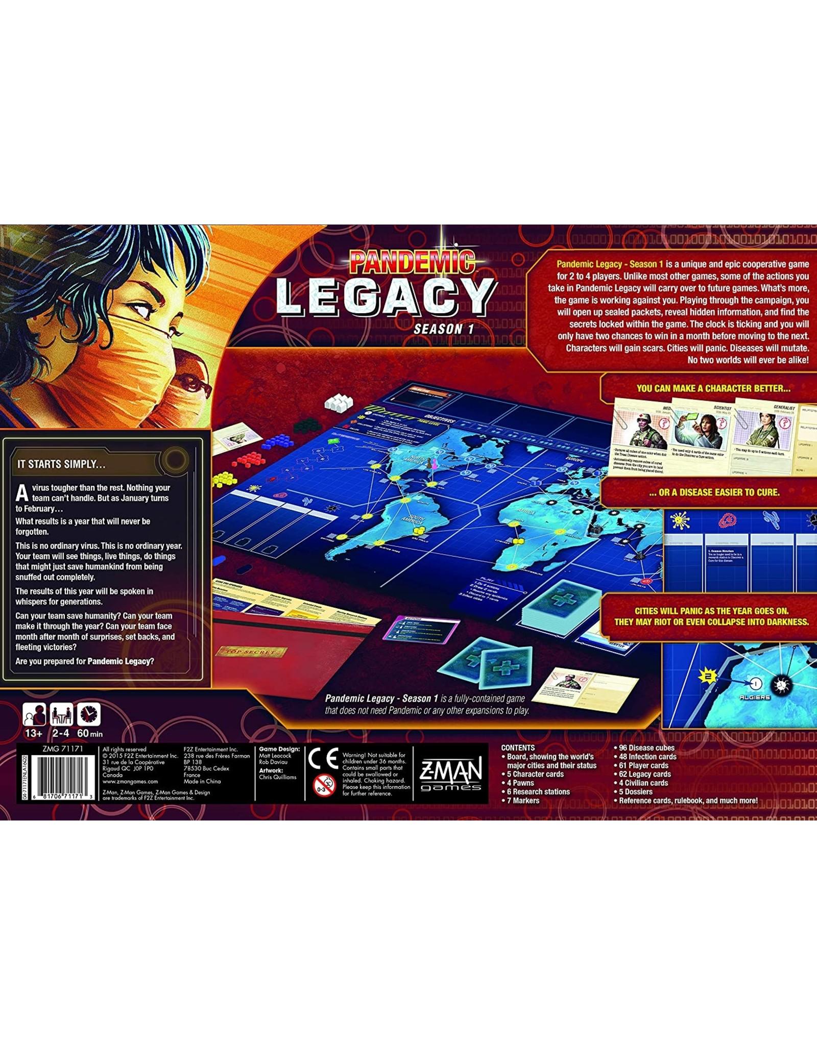 Pandemic: Legacy Season 1 - Red