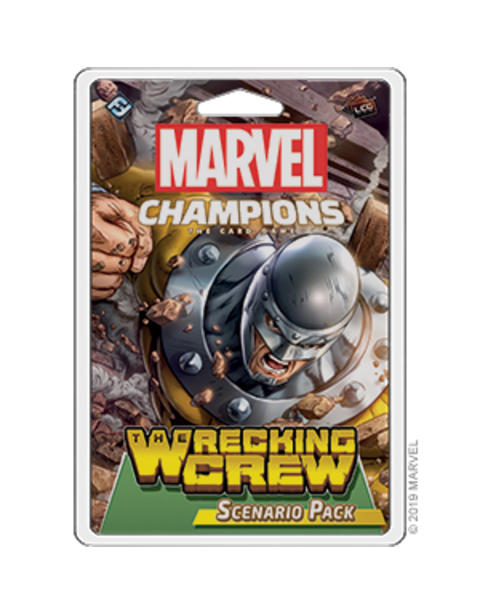 Fantasy Flight Games Marvel Champions LCG - Wrecking Crew Scenario
