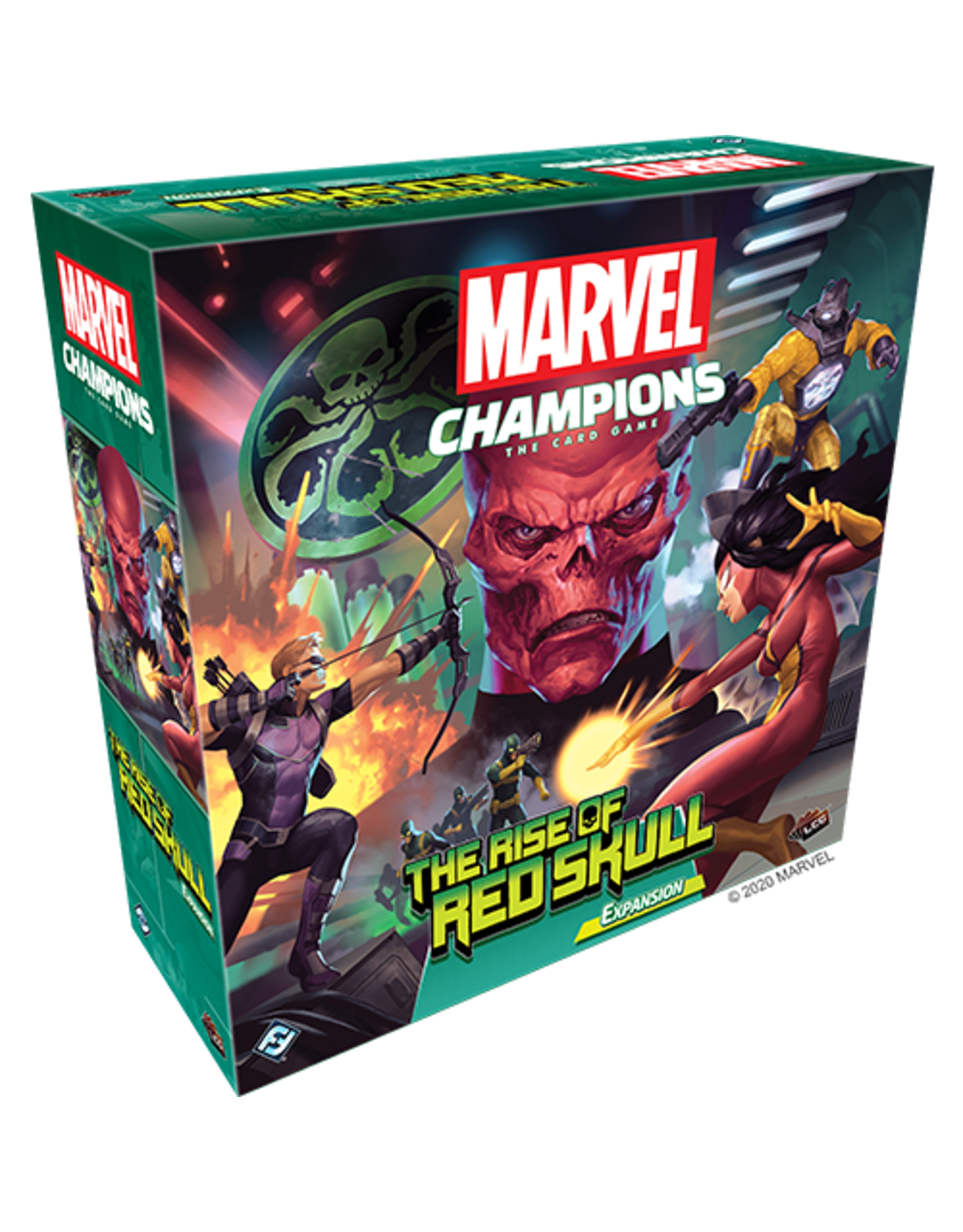 Fantasy Flight Games Marvel Champions LCG - The Rise of Red Skull