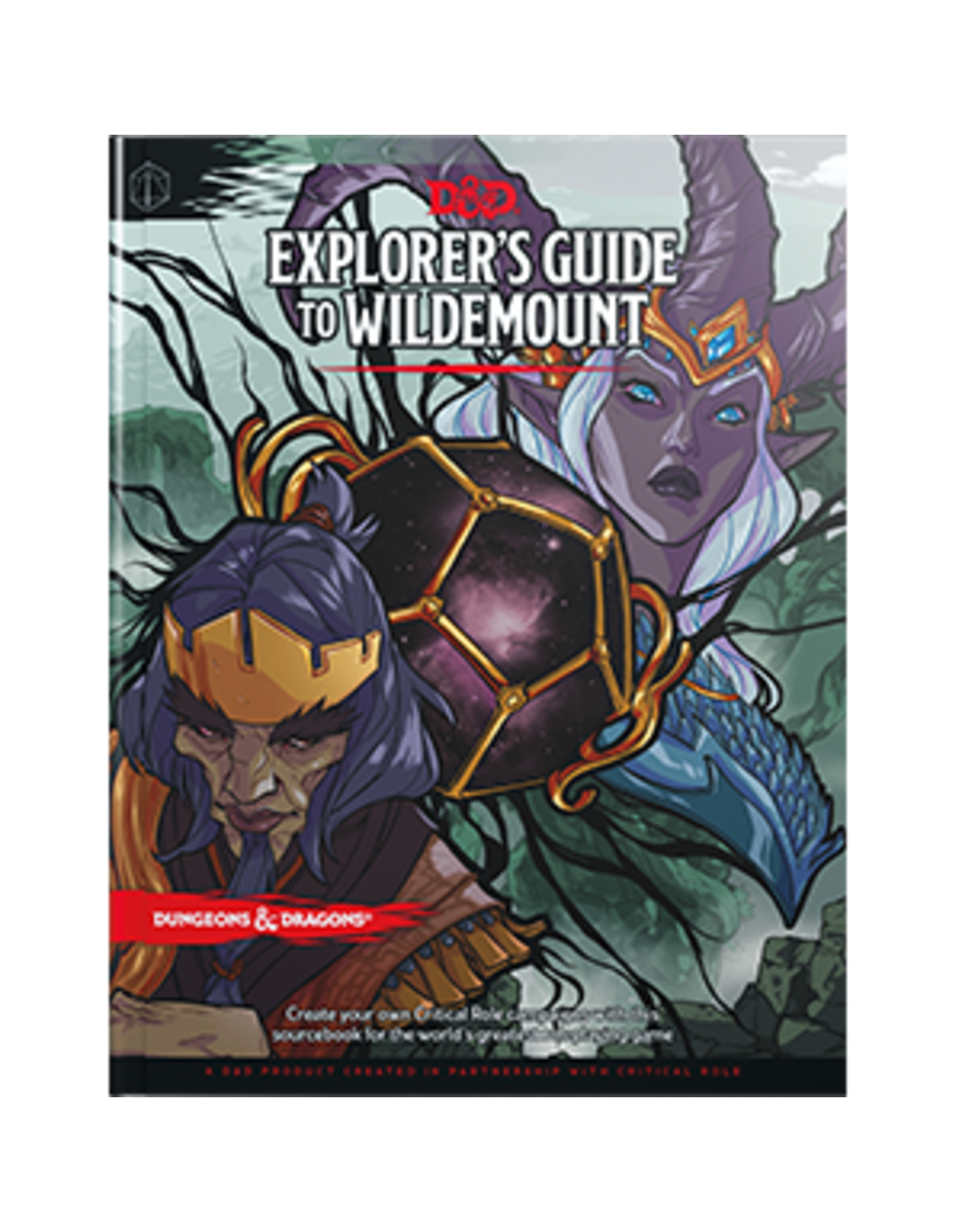 Wizards of the Coast D&D 5th: Explorer's Guide to Wildemount