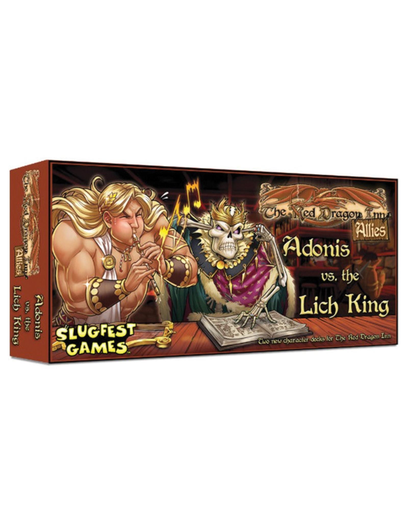 Slugfest Games Red Dragon Inn Allies - Adonis vs the Lich King