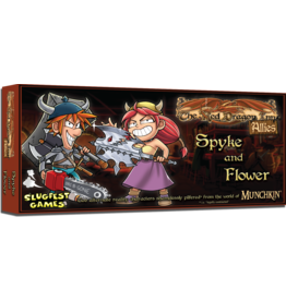 Slugfest Games Red Dragon Inn Allies - Spyke & Flower