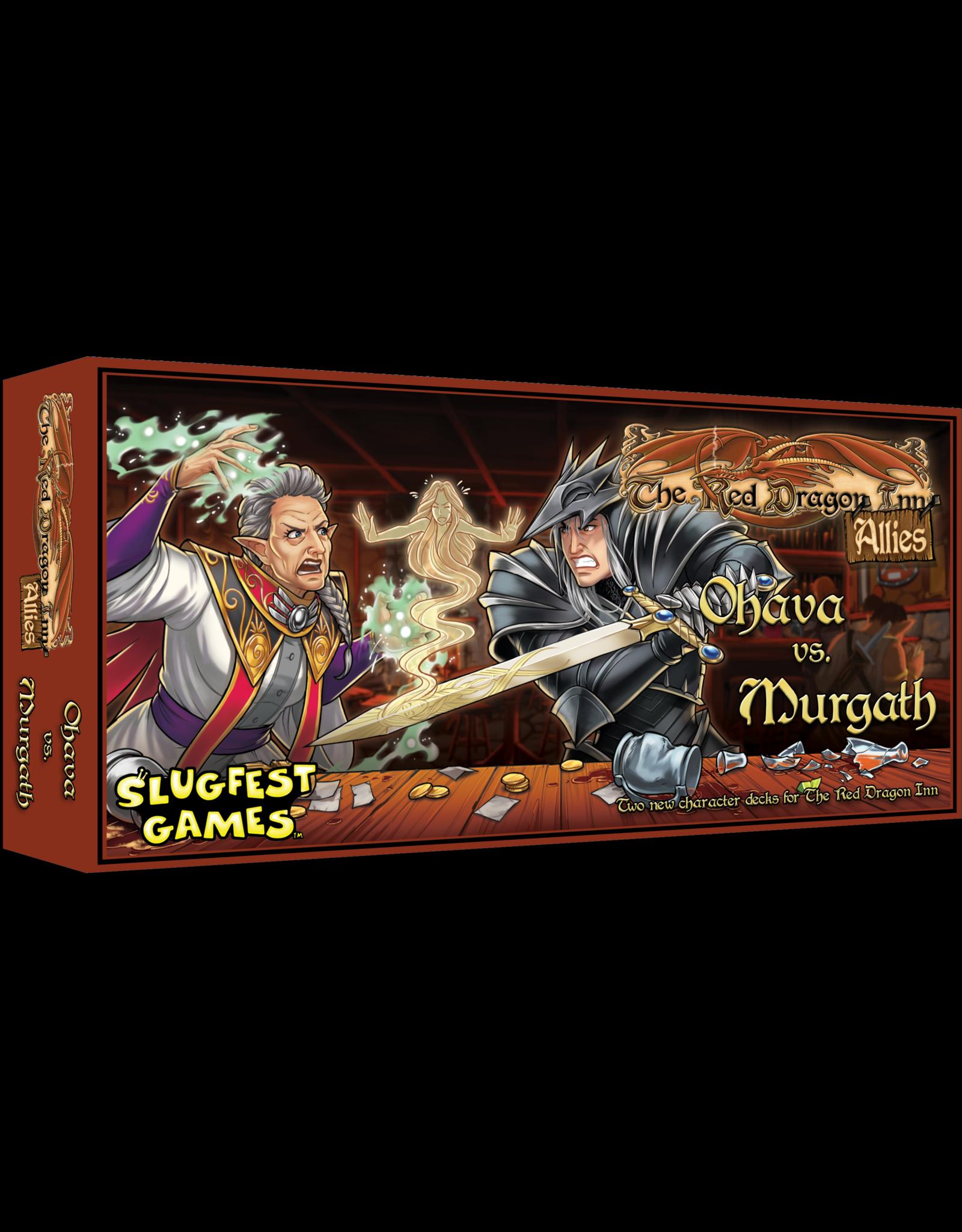 Slugfest Games Red Dragon Inn Allies - Ohava vs Murgath