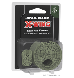 Fantasy Flight Games Star Wars X-wing 2E: Scum and Villainy Manuever Dial Kit