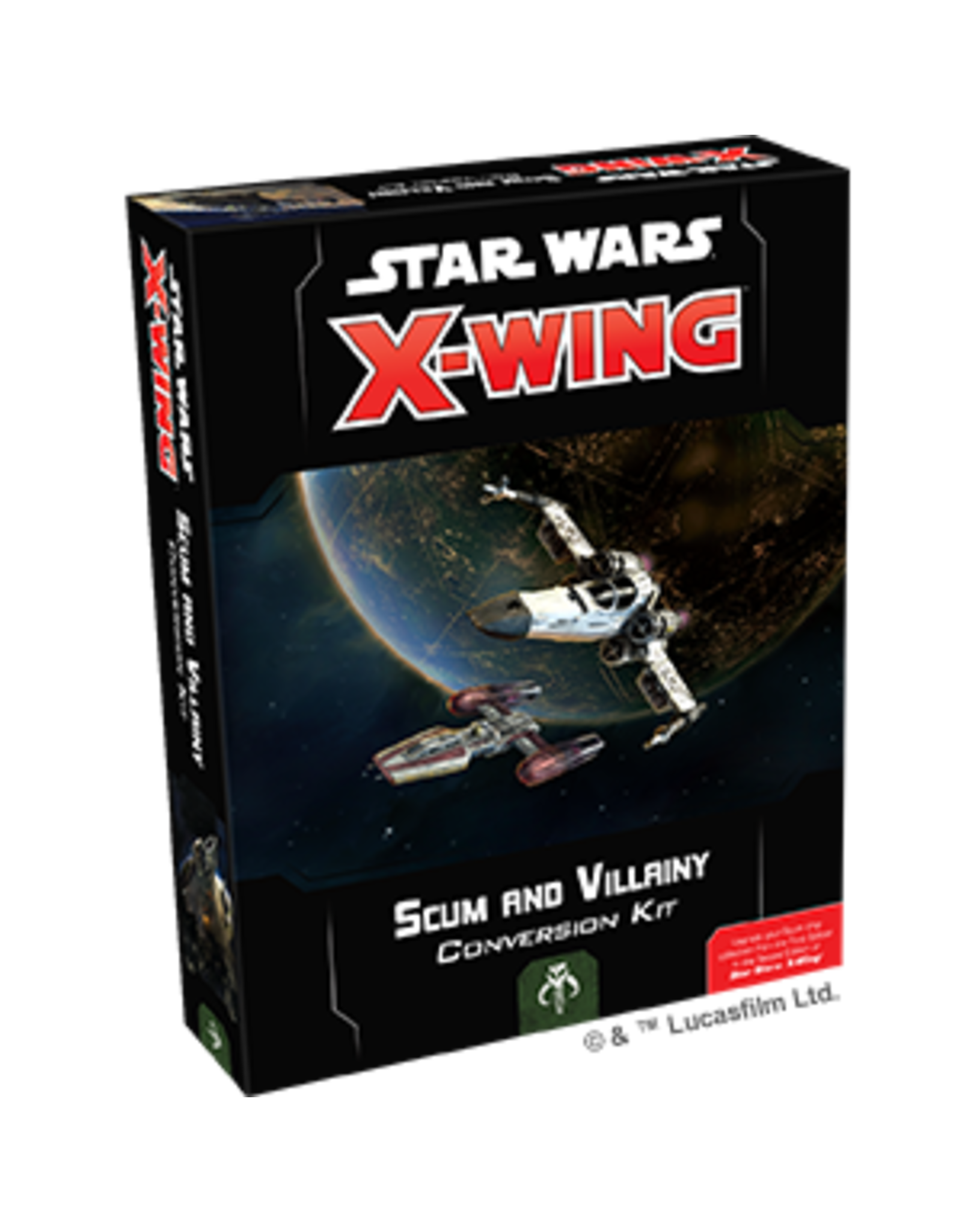 Fantasy Flight Games Star Wars X-wing 2E: Scum and Villainy Conversion Kit