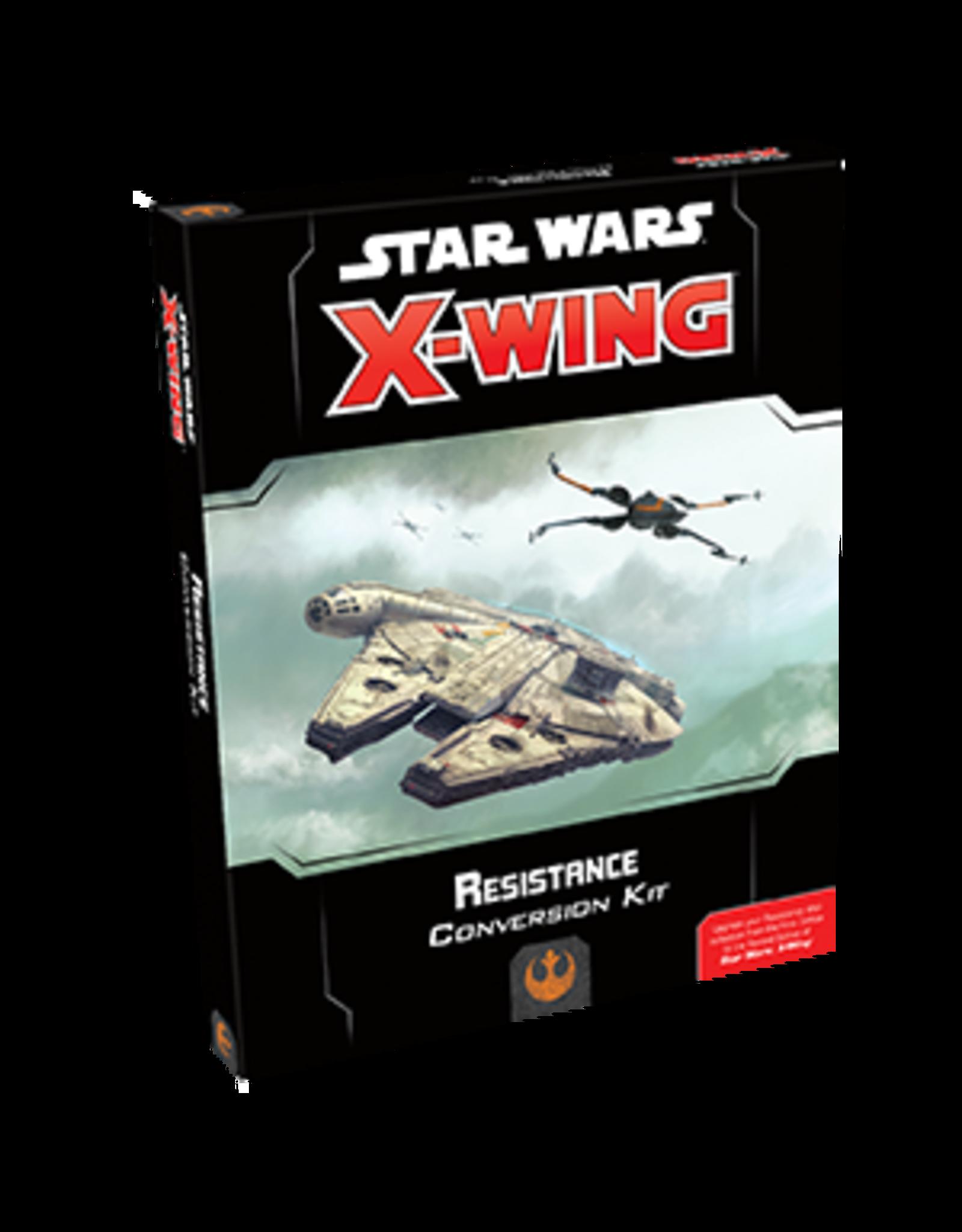 Fantasy Flight Games Star Wars X-wing 2E: Resistance Conversion Kit