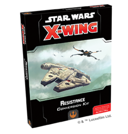 Fantasy Flight Games Star Wars X-wing 2E: Resistance Conversion Kit