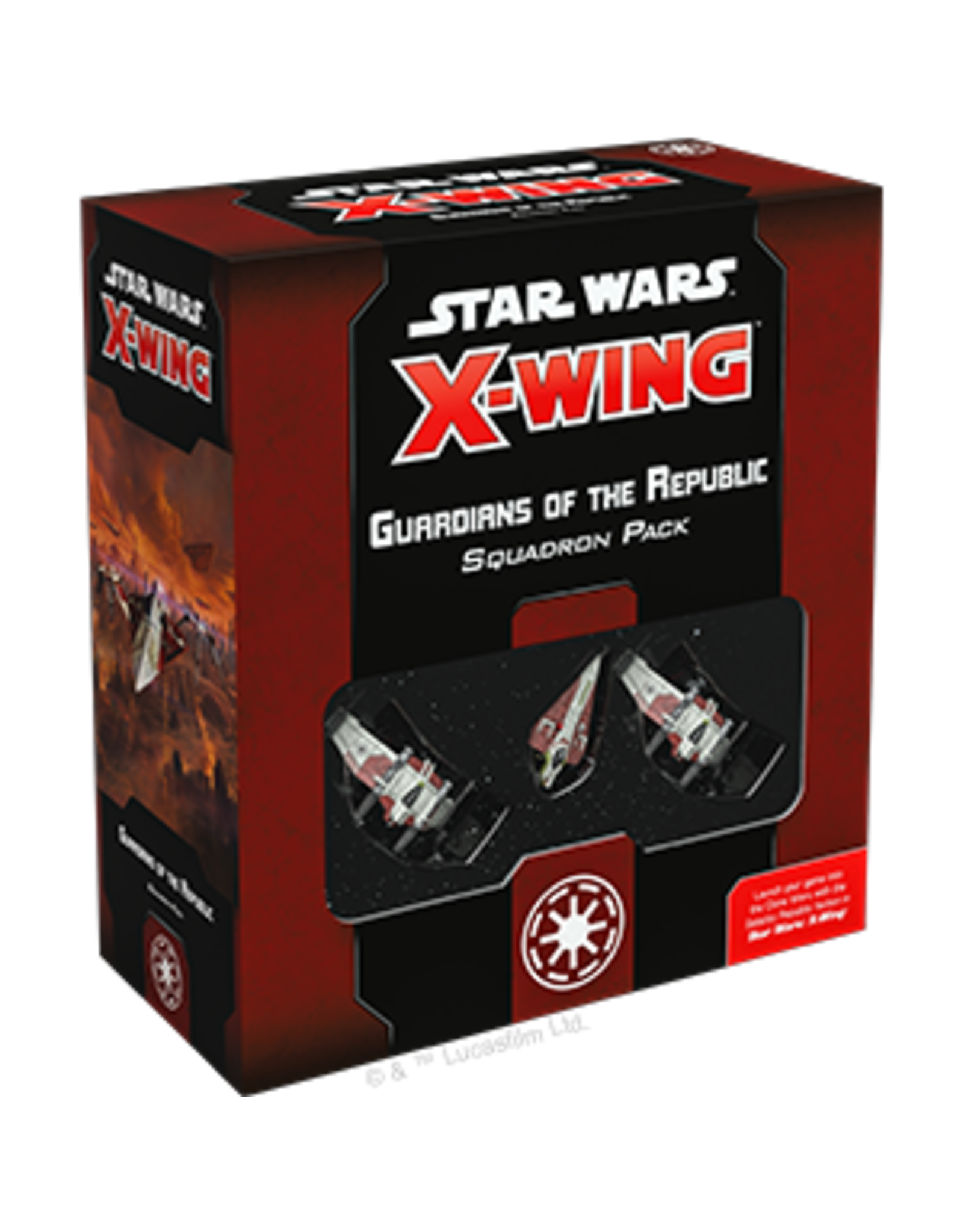 Fantasy Flight Games Star Wars X-wing 2E: Guardians of the Republic Squadron Pack