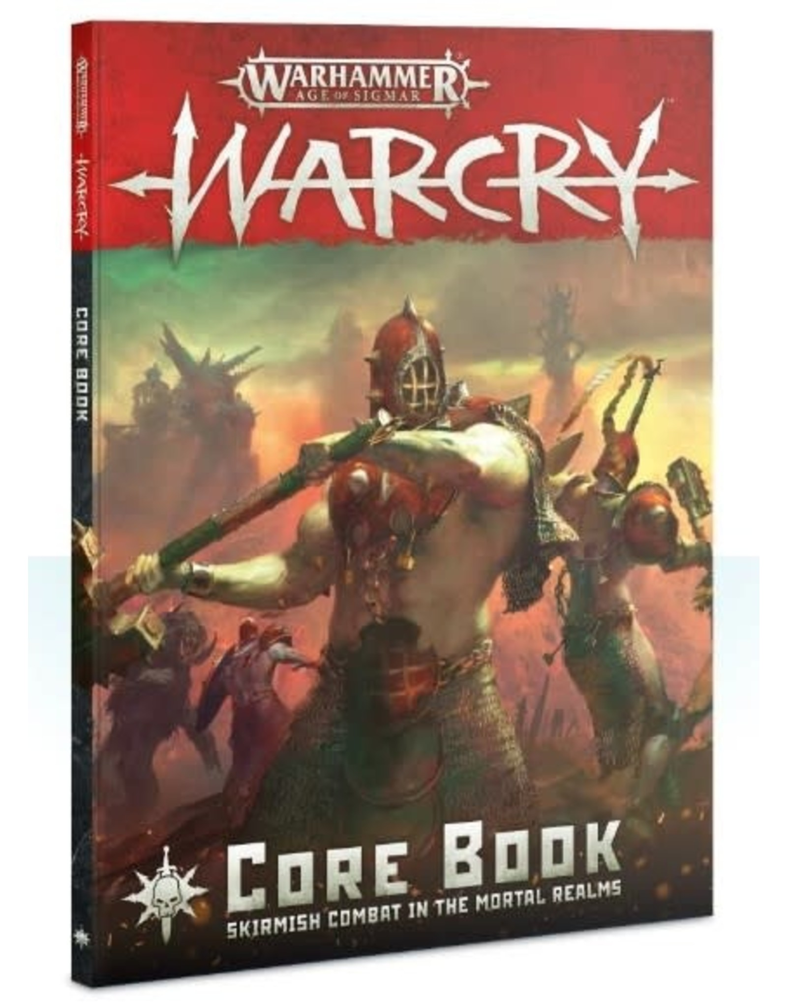 Warhammer AoS WHAoS Warcry - Core Rulebook