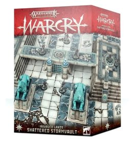 Warhammer AoS WHAoS Warcry - Shattered Stormvault