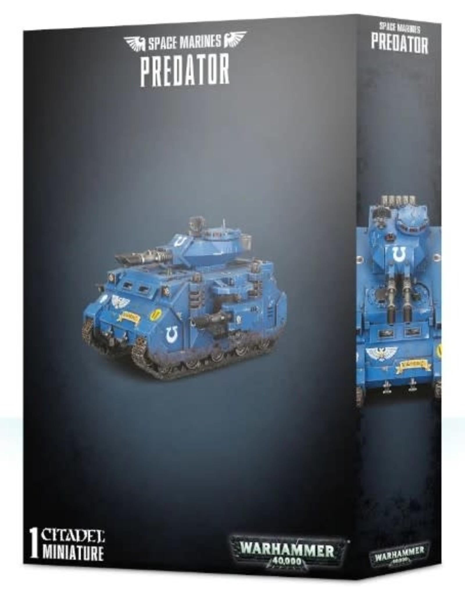 Warhammer 40K WH40K Space Marine Predator
