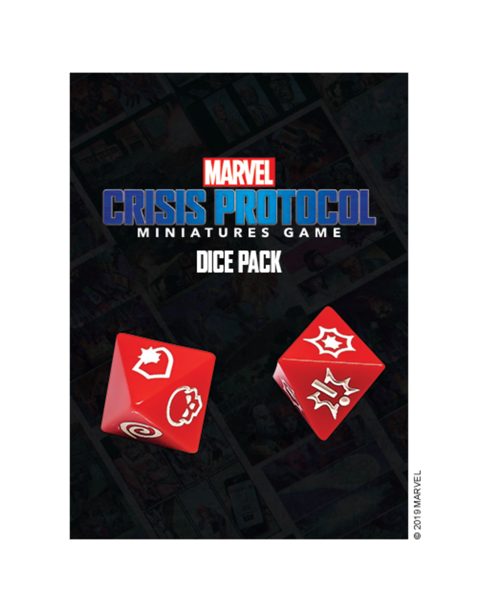 Atomic Mass Games Marvel Crisis Protocol - Dice Pack