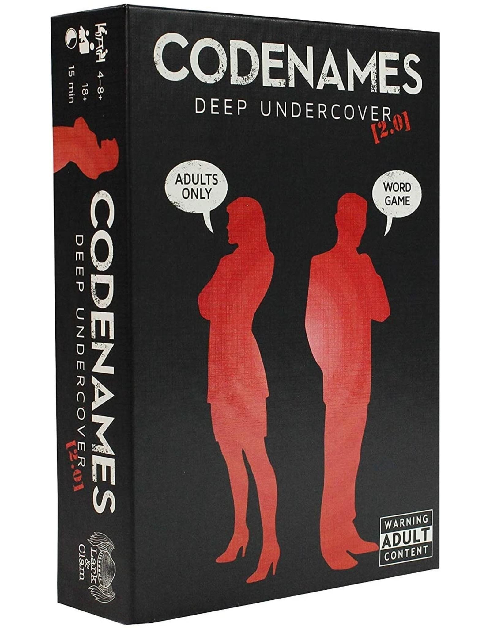 Lark & CClam Codenames: Deepcovers 2.0