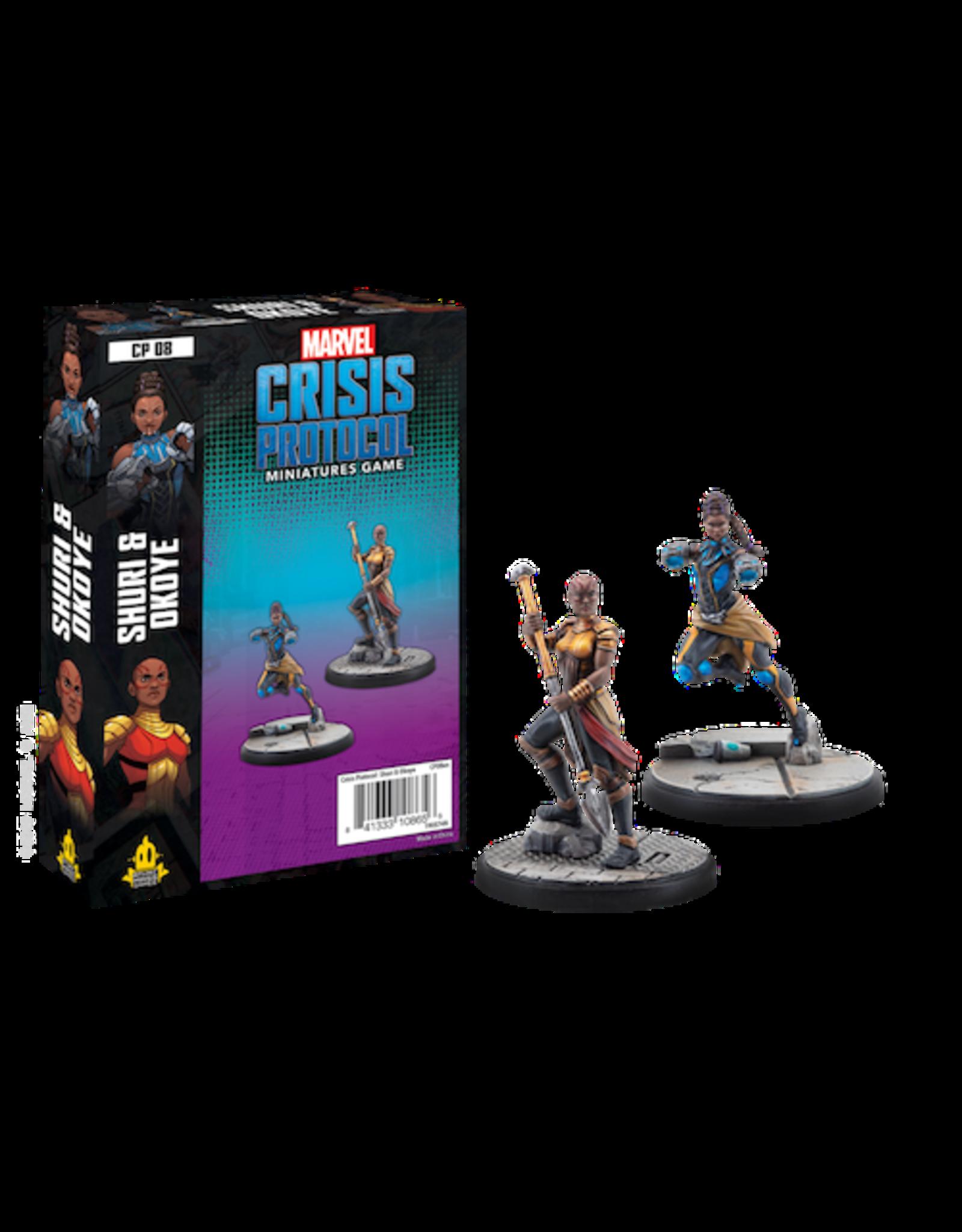 Atomic Mass Games Marvel Crisis Protocol - Shuri and Okoye