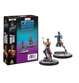 Atomic Mass Games Marvel Crisis Protocol - Shuri and Okoye