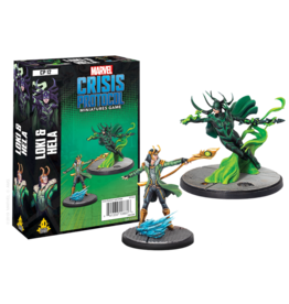Atomic Mass Games Marvel Crisis Protocol - Loki & Hela