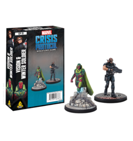 Atomic Mass Games Marvel Crisis Protocol - Vision & Winter Soldier