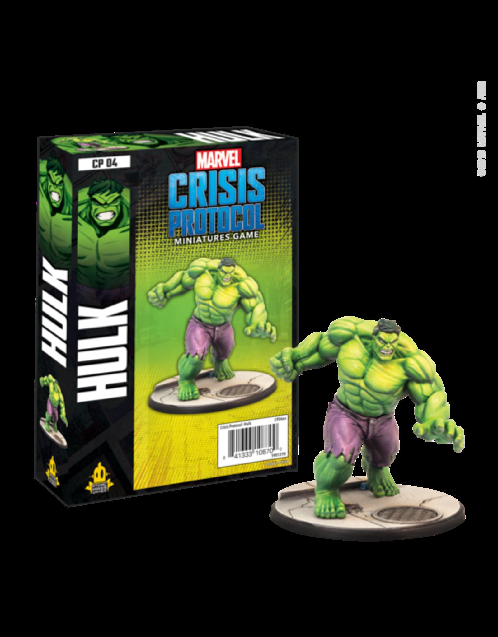 Atomic Mass Games Marvel Crisis Protocol - Hulk