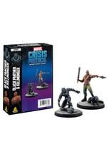 Atomic Mass Games Marvel Crisis Protocol - Black Panther & Killmonger