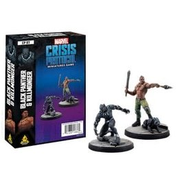 Atomic Mass Games Marvel Crisis Protocol - Black Panther & Killmonger