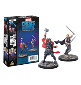 Atomic Mass Games Marvel Crisis Protocol - Thor & Valkyrie
