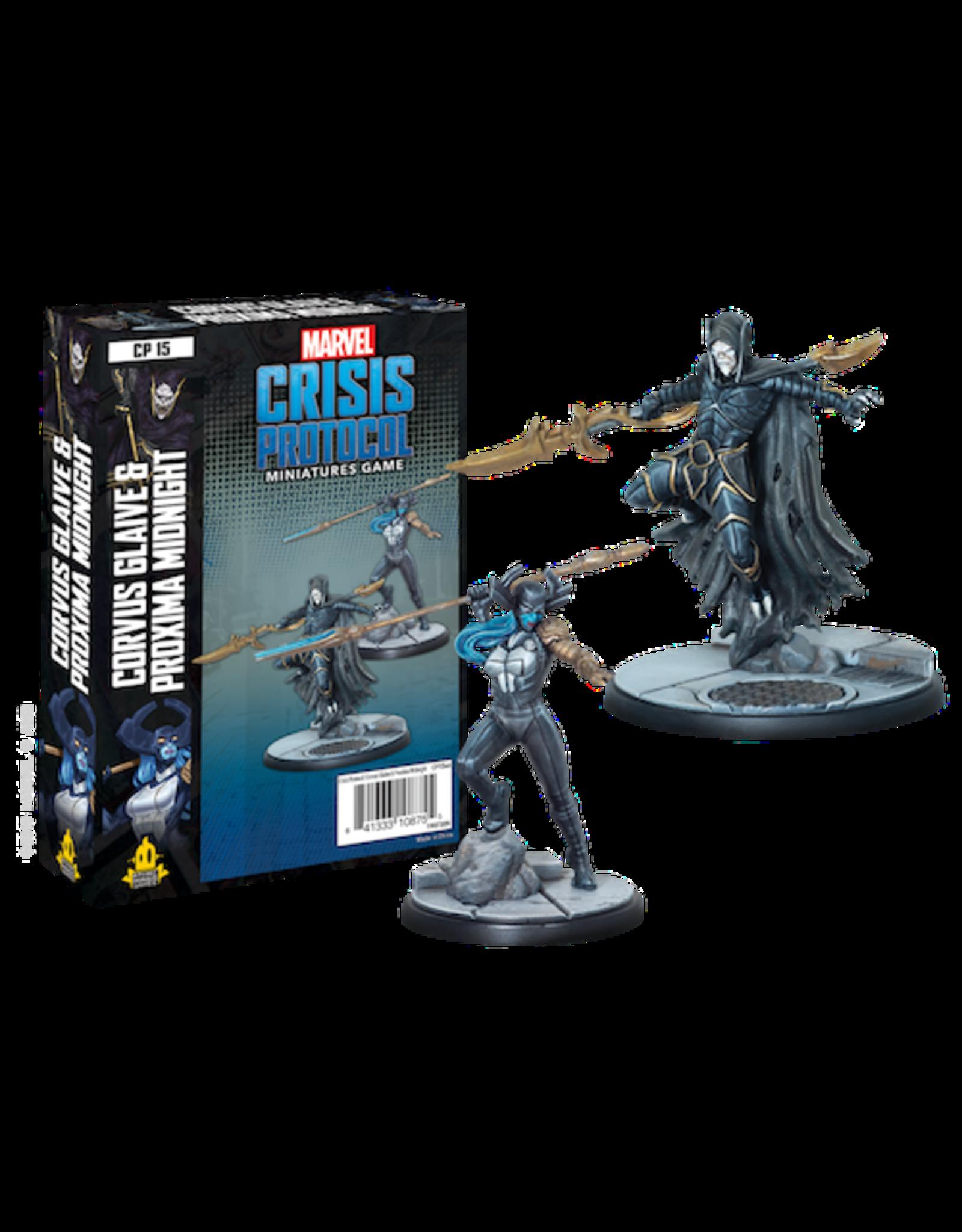 Atomic Mass Games Marvel Crisis Protocol - Corvus Glave & Proxima Midnight