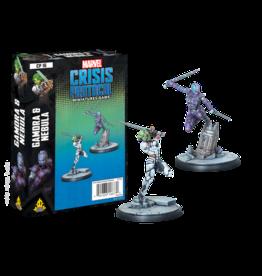 Atomic Mass Games Marvel Crisis Protocol - Gamora & Nebula