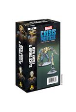 Atomic Mass Games Marvel Crisis Protocol - Black Dwarf & Ebony Maw