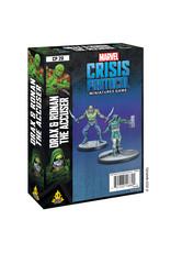 Atomic Mass Games Marvel Crisis Protocol - Drax & Ronan