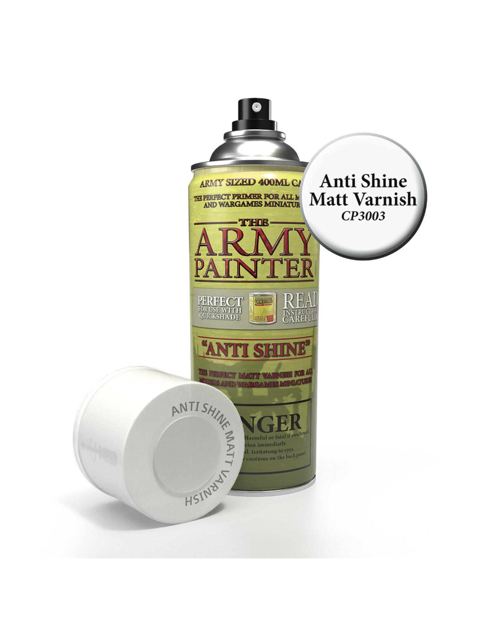 Army Painter Army Painter - Anti-Shine Primer - Matt Varnish